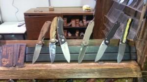 складные ножи с выставки клинок 2014