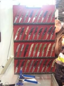 складные ножи с выставки
